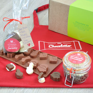 Personalised Christmas Chocolates Making Kit - moulds