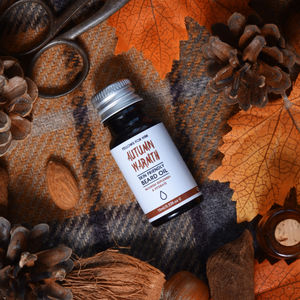 Autumn Warmth Beard Oil 10ml - stocking fillers