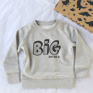 Big Brother Or Big Sister Sweatshirt - sibling sets