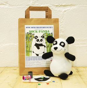 Sock Panda Craft Kit