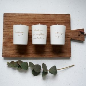 Personalised Mini Candle Gift Set - the candle emporium