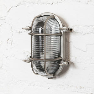 Steve Bulkhead Light For Indoors Or Outdoors - wall lights