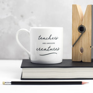 Teacher Bone China Mug