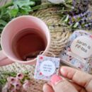 'Fiftea' Personalised 50th Birthday Tea Gift Set
