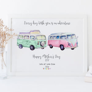 Personalised Mother's Day Gift Print