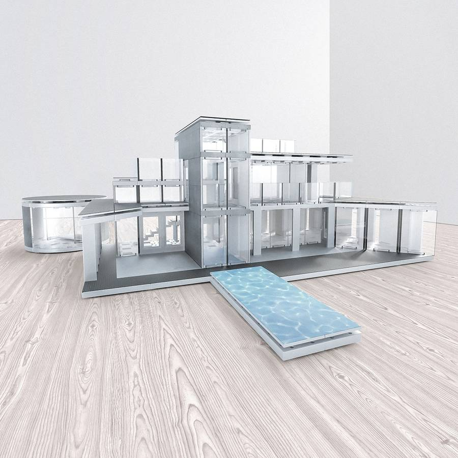 architectural model making kit 360sqm by arckit