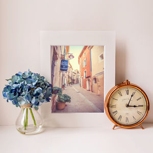 Provence Street Fine Art Photographic Print - architecture & buildings