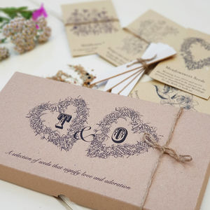 Personalised Lovers Seed Set - seeds & bulbs