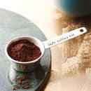 Personalised Silver Plated Coffee Scoop