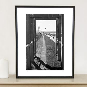 Pont De Normandie Photographic Art Print