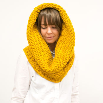 Fishermans Cowl Knitting Kit