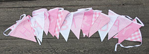 'Happy Birthday' Cotton Bunting - decorative accessories