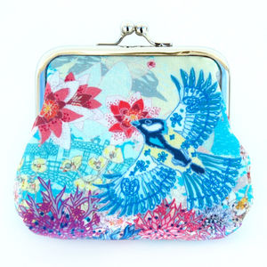 Cloud Lily Silk Purse - womens