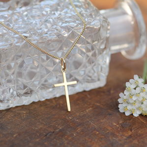 Nine Carat Gold Devotion Necklace