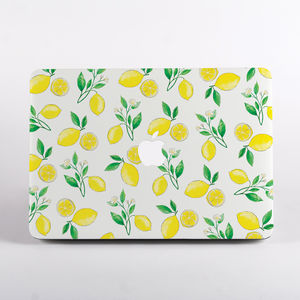 Summer Lemons Mac Book Case - bags & purses