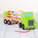 Childrens Personalised Wooden Farm Truck