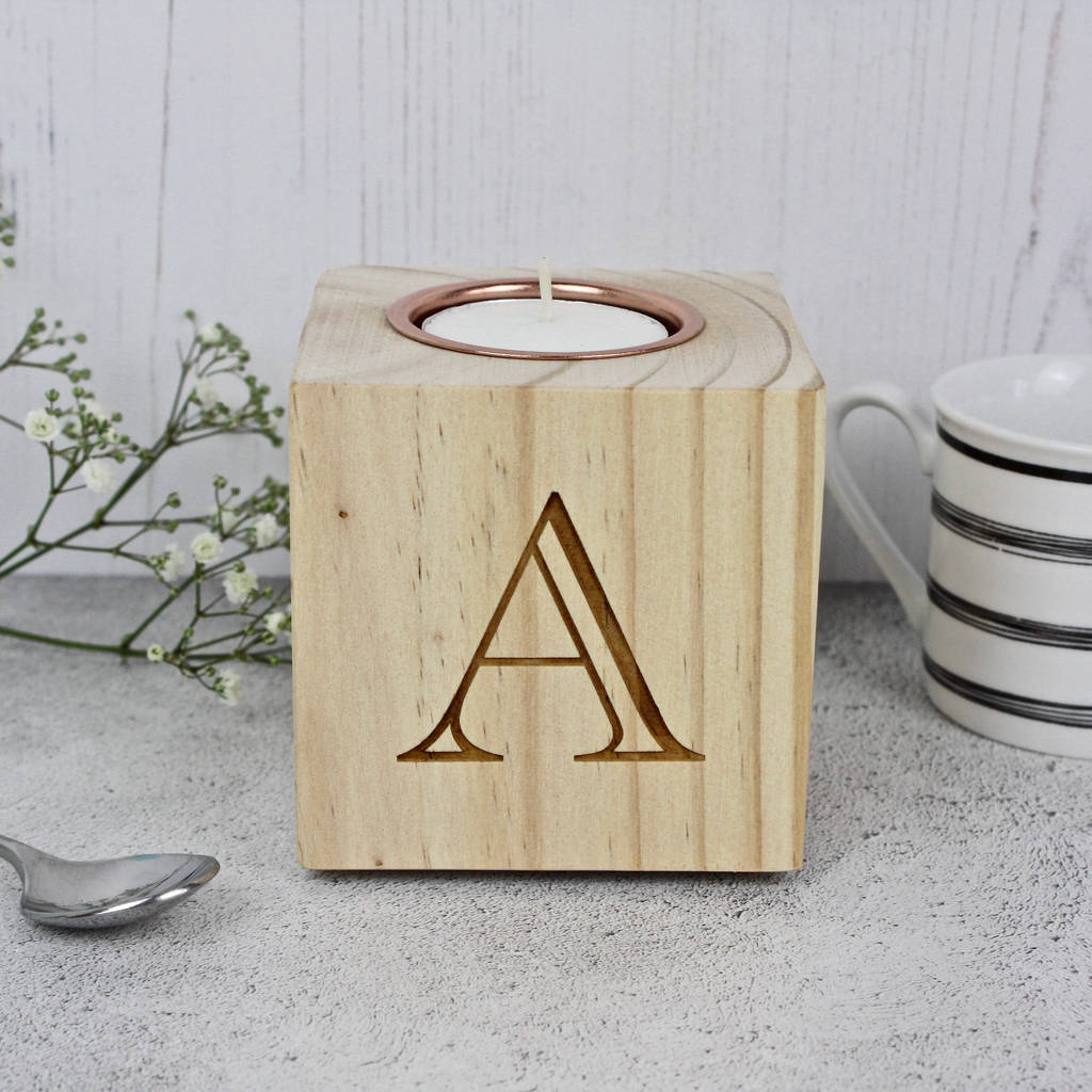 Letter And Number Candle Block