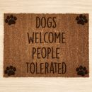 Personalised Paw Prints Doormat