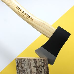 Personalised Axe