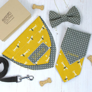 Personalised Dog Lovers Gift Set - clothing & accessories