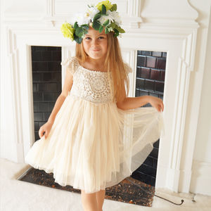 Abigail ~ Flower Girl Dress - dresses