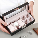 Personalised Cufflinks And Watch Box
