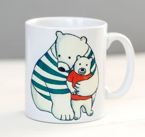 Daddy Hugs Mug - mugs