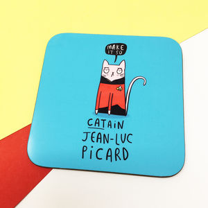 Catain Jean Luc Picard Coaster