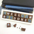 Personalised 'Well Done' Chocolates