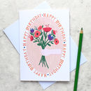 Botanical Bouquet Birthday Card