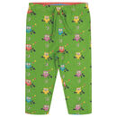 Unisex Green Midnight Owl Reversible Baby Trousers