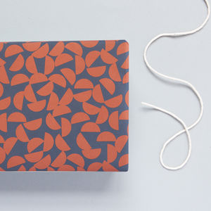 Maze Print Clay Patterned Wrapping Paper - wrapping paper