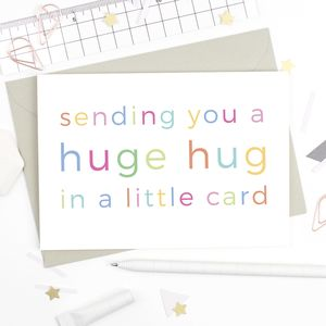 Huge Hug Card