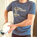 Rugby Try Organic Cotton T Shirt