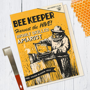 Bee Keeping Card