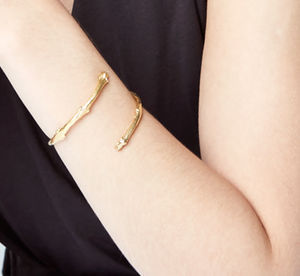 I Can Be Your Strength Twig Bangle - jewellery for women