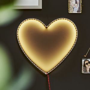Heart Wall Light - christmas with free uk delivery