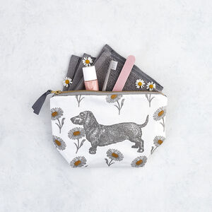 Dog And Daisy Cosmetic Bag