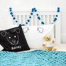 Children's Animal Personalised Cushion Cover Set
