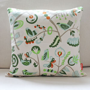 Organic Cotton Cushion - soft furnishings & accessories
