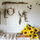 Dried Flower Love Sign