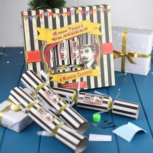 Crackers With Magical Tricks - table decorations