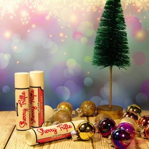 Festive Yule Lip Balms Choice Of Three Flavours
