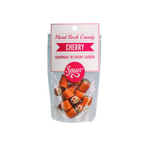 Cherry Hard Rock Candy In A Bag - chocolates & confectionery