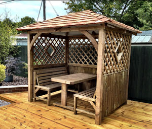 The Hampton Arbour - garden furniture