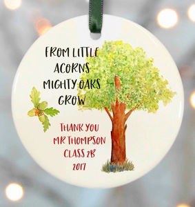 Personalised Teacher Gifts - easter decorations