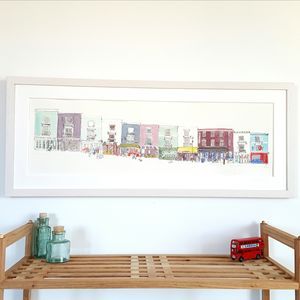 Portobello Road Shops Limited Edition Print
