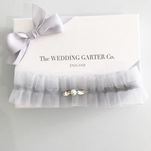 Something Blue Wedding Garter - bridal-edit