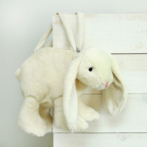 Soft Toy Bunny Bag - stocking fillers for babies & children