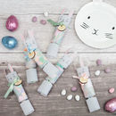 Easter Bunny Rabbit Crackers With Personalised Tags